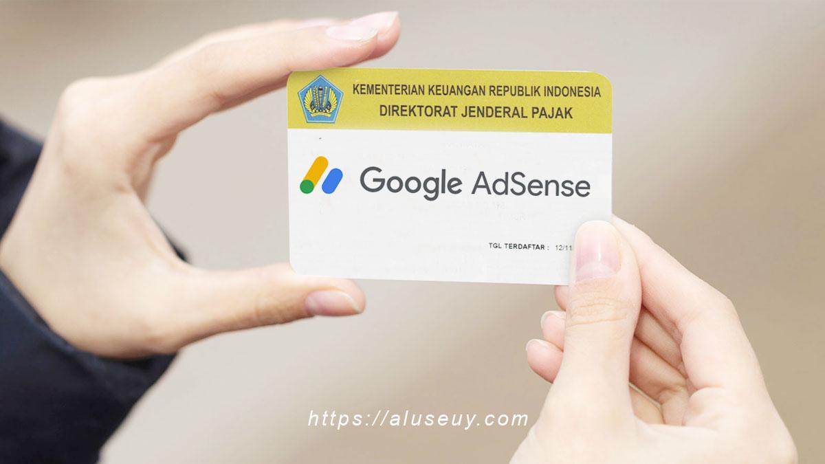 NPWP Google Adsense Indonesia
